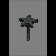 Feststellschraube Rad Klappmechanismus LR-X